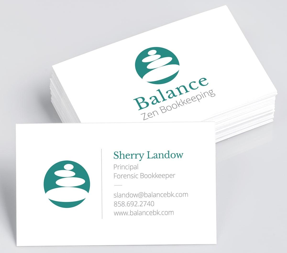 Balance Zen Bookkeeping<br> Logo Design & Branding